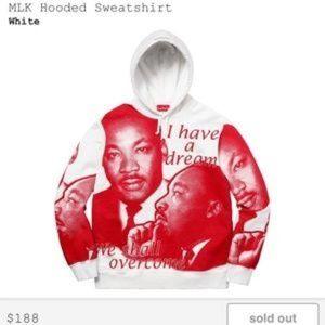 Supreme MLK Hoodie